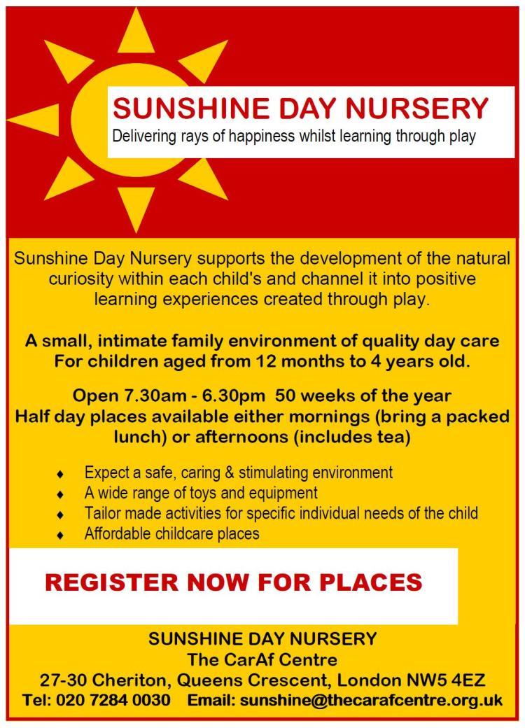 sunshinedaynursery